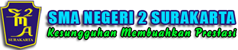 Website Resmi SMA Negeri 2 Surakarta